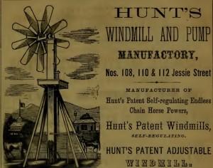 1864 Windmill Advertisement