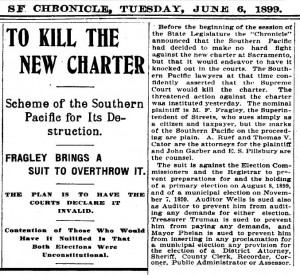 1899-6-6 Charter Challenged