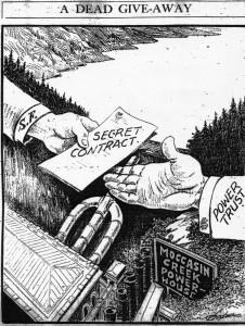 SF Examiner June 1925 Editorial Comic