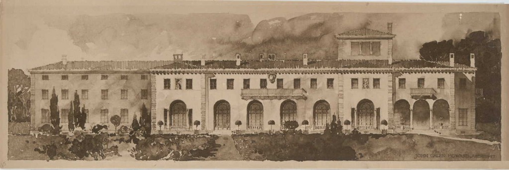 William Crocker's Mansion - now the Burlingame Country Club
