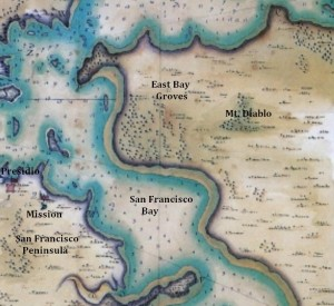 1776 Canizares map